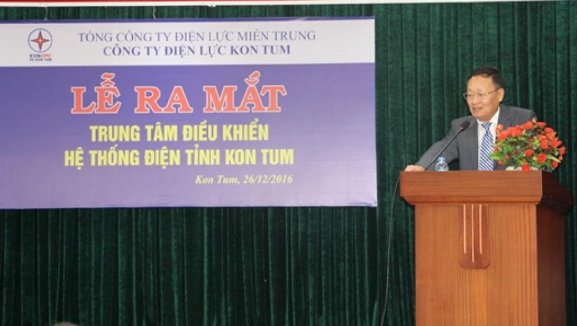 Xây dựng trung tâm điều khiển tỉnh Kon Tum