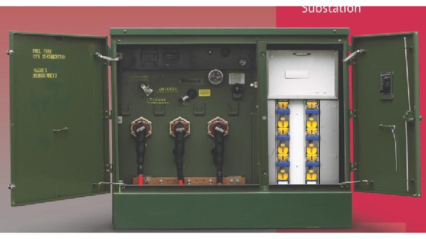 Máy biến áp hợp bộ đặt trên nền | Eaton's Cooper Power Systems