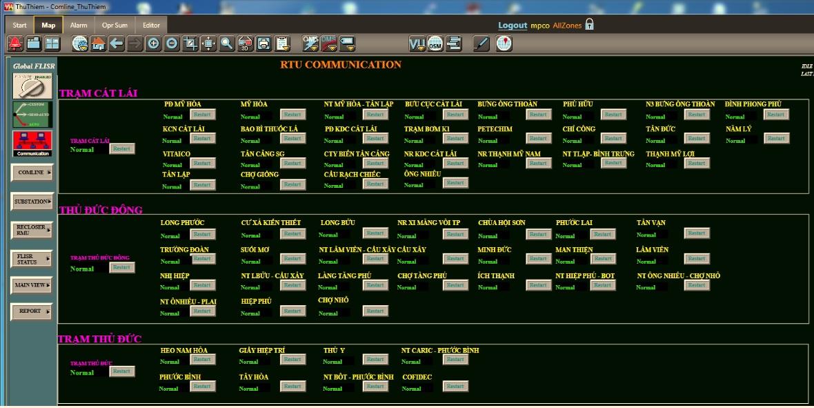 Mở Rộng Hệ Thống Tự Động Hóa Lưới Điện Phân Phối Công Ty Điện Lực Tân Thuận