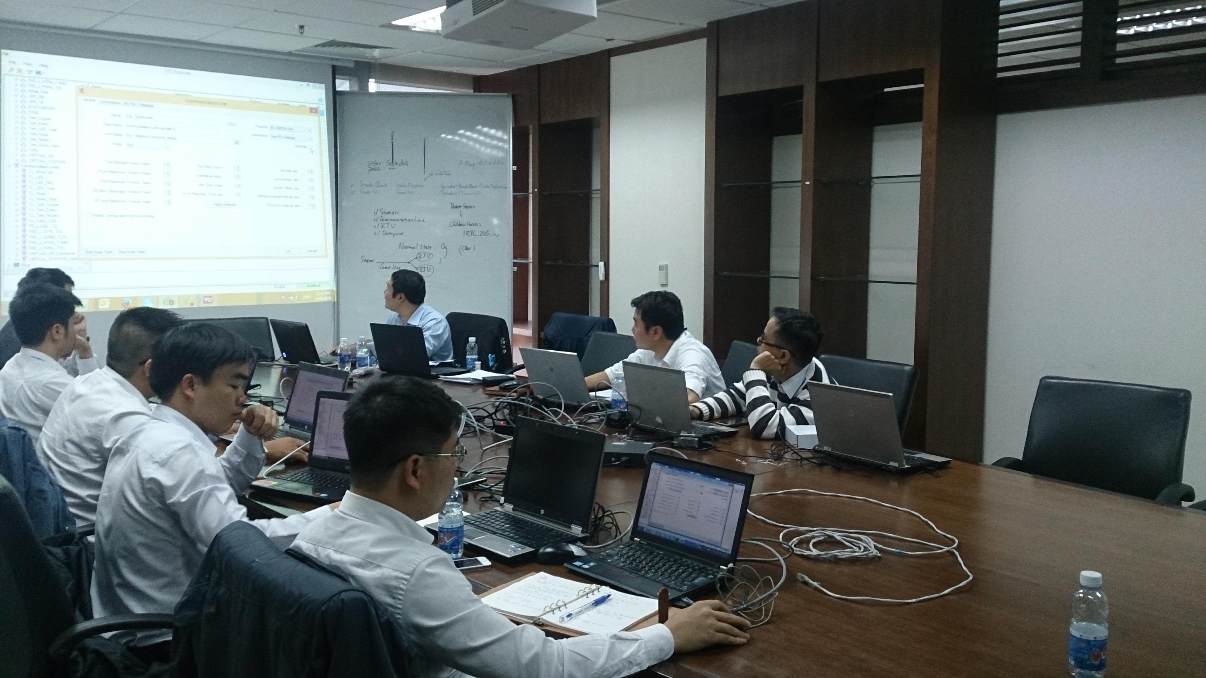 Xây dựng Trung tâm điều khiển Điện lực Khánh Hòa